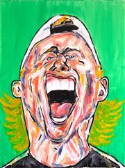 Sale 8301A - Lot 79 - Mark Tippett (1965 - ) - Portrait of Lleyton 122 x 92cm