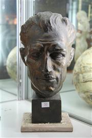 Sale 8327 - Lot 50 - Hans Nolte Bust