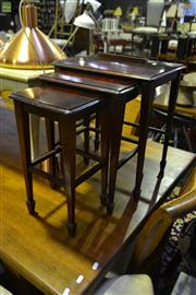 Sale 8554 - Lot 1030A - Nest of 3 Tables