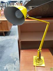 Sale 8625 - Lot 1067 - Yellow Planet Lamp -