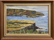 Sale 8686 - Lot 2026 - Dorothy Rosenfeld - From Debroyd Point, oil on canvas board, 35.5 x 49cm (frame size), initialled lower right