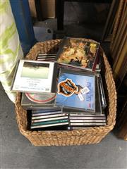Sale 8819 - Lot 2450 - Basket of CDs