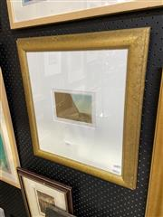 Sale 8888 - Lot 2016 - Rodney Fumpston - Egyptian Mezzotint - 100 mezzotint ed,33/40, 50 x 45.5cm (frame), signed -