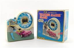 Sale 9134 - Lot 1035 - Batman talking clock in original box by Janex for D.C. Comics 1975
