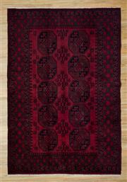 Sale 8566C - Lot 40 - Afghan Turkman 232cm x 150cm