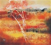 Sale 8773 - Lot 544 - Thomas Yeo (1936 - ) - Landscape 52 x 59cm