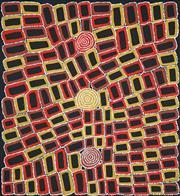 Sale 8916 - Lot 599 - Walala Tjapaltjarri (1960 - ) - Tingari 103 x 95 cm