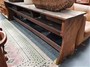 Sale 8834 - Lot 1080 - Early Timber School Desk for 3