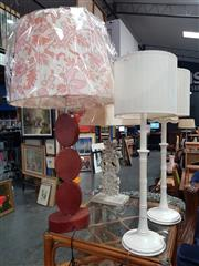 Sale 8863 - Lot 1088 - Collection of 4 Table Lamps