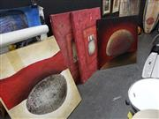 Sale 8978 - Lot 2086 - Four Large Abstract Works
