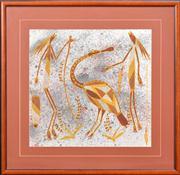 Sale 8297 - Lot 593 - Joshua Bangar (XX) - Spoonbill 48.5 x 50.5cm