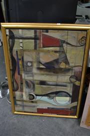 Sale 8449 - Lot 2037 - Kaoru Mansour (XX) - Pot & Chair #2, 1996 76 x 101cm