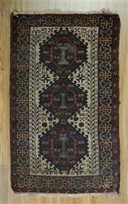 Sale 8625C - Lot 33 - Antique Persian Shiraz 150cm x 90cm