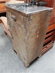 Sale 8684 - Lot 1073 - Industrial Bedside marked No 5