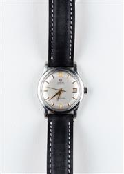 Sale 8770 - Lot 74 - A Vintage Omega Seamaster Automatic Wristwatch; in stainless steel with matte dial, centre seconds, date, 20 jewel cal. 503 movement...