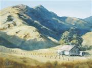 Sale 8819 - Lot 2040 - Ramon Ward Thompson (1941 - ) - Old Shearing Shed, Flingers Rangers SA 35 x 47cm