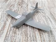 Sale 8809B - Lot 626 - Vintage Twin Mustang James Walker Recognition Silhouette Spotter Aircraft Model, metal, as new in original box (wingspan 16cm)