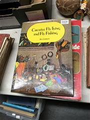 Sale 8819 - Lot 2418 - 4 Volumes on Fly Fishing incl Rex Gerlach Creative Fly Tying and Fly Fishing 1974