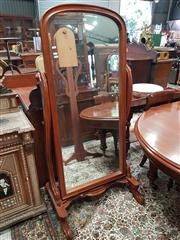 Sale 8831 - Lot 1012 - Victorian Mahogany Cheval Mirror
