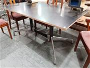 Sale 8908 - Lot 1088 - Eames Table with a Ply Top