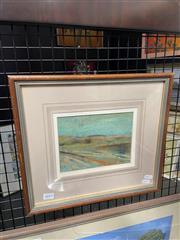 Sale 8924 - Lot 2018 - Frank de Silva - Sand Dunespastel 33 x 37cm, signed lower right