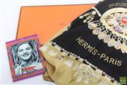 Sale 8481 - Lot 53 - Hermes Brides De Gala En Finesse Scarf