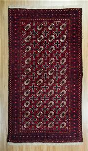 Sale 8625C - Lot 34 - Persian Bukhara 194cm x 105cm