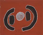 Sale 8718 - Lot 503 - Bruce Wungundin (1952 - ) - Harrison Spring, 2007 natural pigment with acrylic binder on custom board
