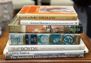Sale 8746 - Lot 1061 - A group of art books including Australian Art, The Art of the Boyds and Hockney Posters