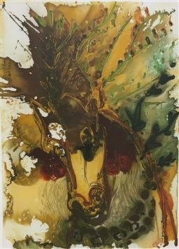 Sale 9108A - Lot 5006 - Salvador Dali (1904 - 1989) - Bucephale 56 x 37 cm