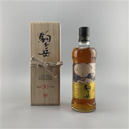 Sale 9165 - Lot 622 - 1986 Mars Komagatake 30YO Cask Strength Single Malt Japanese Whisky - distilled April 1986, bottled June 2016, 61% ABV, 700ml in t...