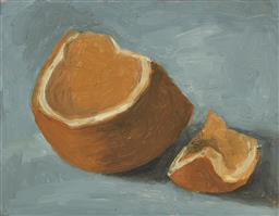 Sale 9212A - Lot 5004 - MAX LIEBERMAN - Still Life - Orange 20.5 x 26.5 cm (frame: 36 x 42 x 4 cm)