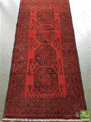 Sale 8480 - Lot 1191 - Afghan Turkoman Runner (240 x 85cm)