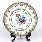 Sale 8545N - Lot 189 - Paragon Hanpainted Cabinet Plate (Diameter 27cm)