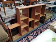 Sale 8554 - Lot 1026 - 1970s Style Mirrored Back Stepside Bookshelf