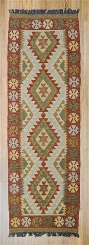 Sale 8576C - Lot 63 - Persian Kilim 207cm x 68cm