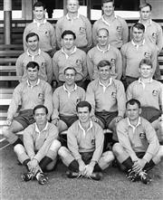 Sale 8754A - Lot 69 - Australia Rugby Union Team, 1966 - 26 x 22cm