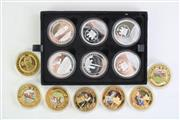 Sale 8835C - Lot 77 - Group of Crown Coin Collections Incl. The Great Britons (2016), Moon Landing (2017), Legends of Horseracing, and Others