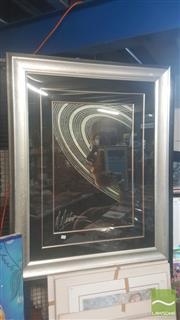 Sale 8446 - Lot 2096 - Martiros Manoukian (1947 - ) - Saturn 78 x 51cm (frame size: 130 x 103cm)