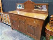 Sale 8495F - Lot 1007 - Maple Mirrored Back Sideboard