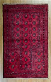 Sale 8625C - Lot 36 - Persian Bukhara 142cm x 80cm