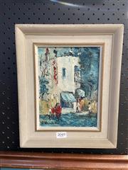 Sale 9011 - Lot 2049 - Wilmotte Williams (1916 - 1992) - The Corner Shop frame: 28 x 23 cm