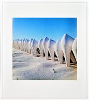 Sale 8347A - Lot 7 - Mari Hirata (1981 - ) - Blue Cliff, 2003 60 x 60cm
