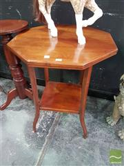 Sale 8554 - Lot 1004 - Hexagonal Occasional table