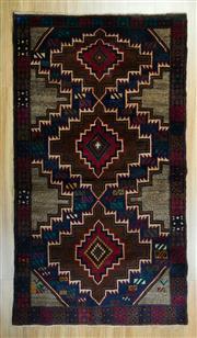 Sale 8625C - Lot 37 - Persian Baluchi 195cm x 107cm