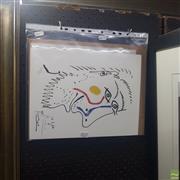 Sale 8640 - Lot 2025 - After Pablo Picasso, Untitled (Portrait), Decorative Print, 34 x 26cm, unframed