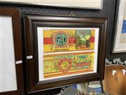 Sale 8906 - Lot 2086 - 2 Vintage Condiment Wrappers