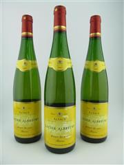 Sale 8423 - Lot 659 - 3x 2007 Lucien Albrecht Reserve Pinot Blanc, Alsace