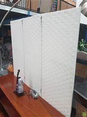 Sale 8620 - Lot 1079 - Modern Three Panel Wall Screen