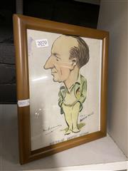 Sale 8906 - Lot 2070 - Reproduction Bradman Print